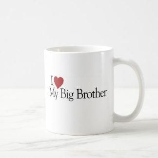I Love My Big Brother Coffee Mugs