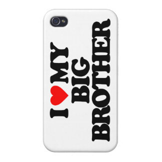 I LOVE MY BIG BROTHER COVER FOR iPhone 4