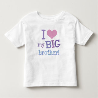 I Love My Big Brother Toddler T-shirt