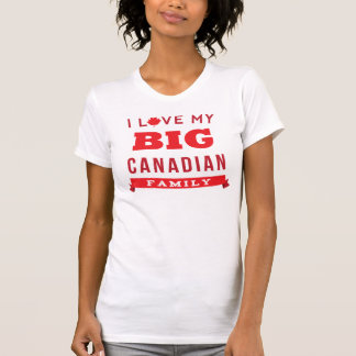 I Love My Big Canadian Family Reunion T-Shirt Idea