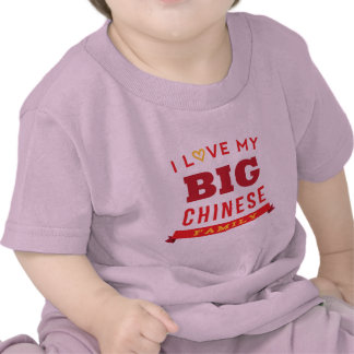 I Love My Big Chinese Family Reunion T-Shirt Idea