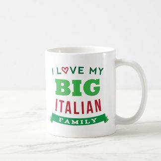 I Love My Big Italian Family Reunion T-Shirt Idea Coffee Mug