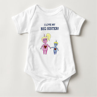 I Love My Big Sister and Little Brother Shirt