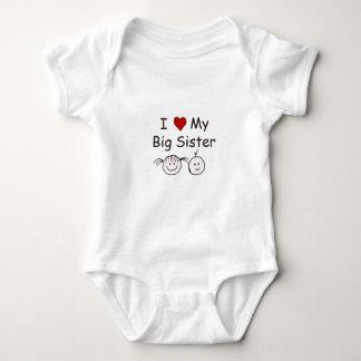 I Love My Big Sister! Baby Bodysuit