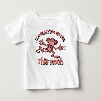 I love my big sister baby T-Shirt