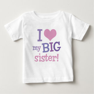 I Love My Big Sister T-Shirts & Shirt Designs | Zazzle