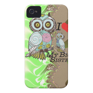 I-Love my Big Sister  Multi Products selected iPhone 4 Cases