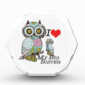 I-Love my-big Sister Owls  Multiple Product Select Award