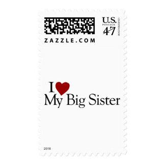 I Love My Big Sister Stamp