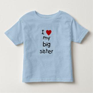 I Love My Big Sister T Shirt