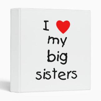 I Love My Big Sisters Binder