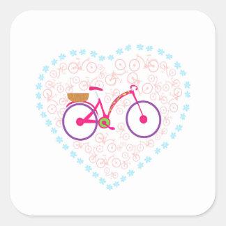 I Love My Bike Sticker