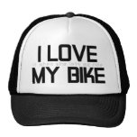 I LOVE MY BIKE TRUCKER HATS