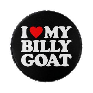 I LOVE MY BILLY GOAT JELLY BELLY CANDY TIN