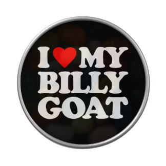 I LOVE MY BILLY GOAT CANDY TINS