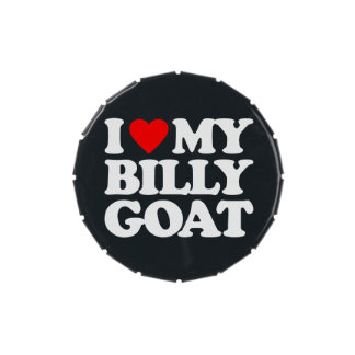 I LOVE MY BILLY GOAT JELLY BELLY TINS