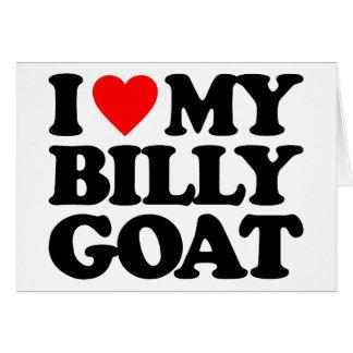 I LOVE MY BILLY GOAT CARD
