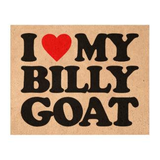 I LOVE MY BILLY GOAT CORK PAPER