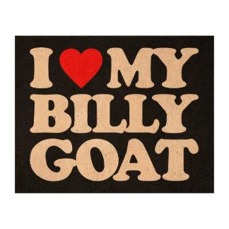 I LOVE MY BILLY GOAT CORK PAPER PRINTS