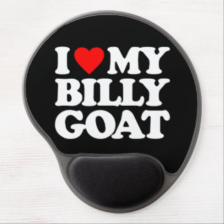 I LOVE MY BILLY GOAT GEL MOUSE PAD