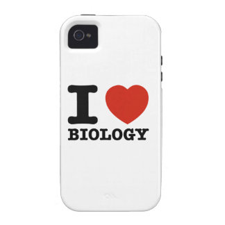 I love my biology vibe iPhone 4 covers