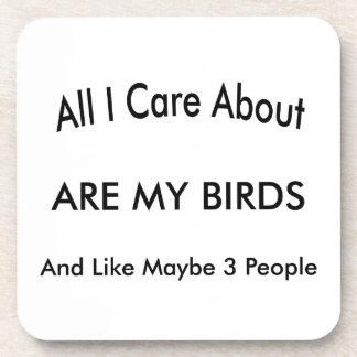 I Love My Birds Coaster