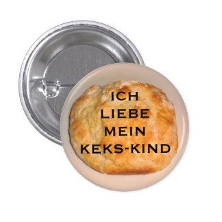 I Love My Biscuit Child (German Version) Pinback Button