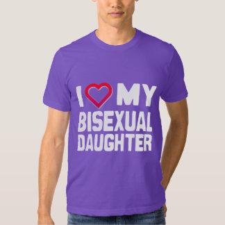 I LOVE MY BISEXUAL DAUGHTER - -.png T Shirt