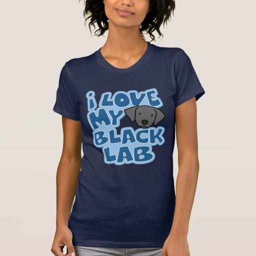 I Love My Black Lab TShirt