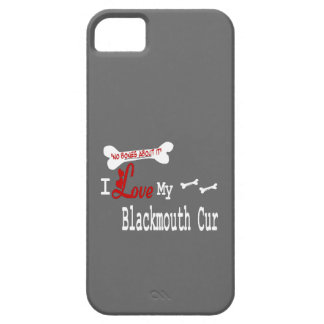 I Love My Blackmouth Cur iPhone SE/5/5s Case