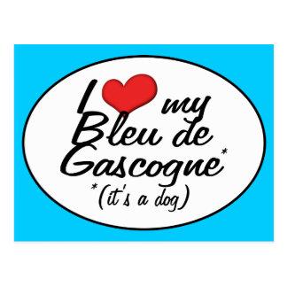 I Love My Bleu de Gascogne (It's a Dog) Postcard