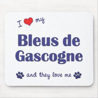 I Love My Bleus de Gascogne (Multiple Dogs) Mouse Pad