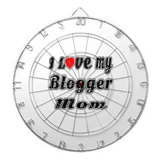 I Love My Blogger Mom Dart Boards