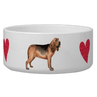 I Love my Bloodhound Bowl