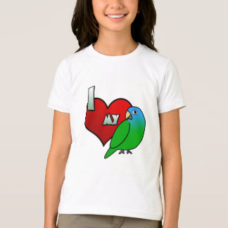 I Love my Blue Crowned Conure T-Shirt