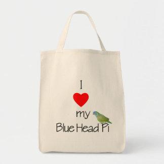 I Love My Blue HEad Pi (pic) Tote Bag
