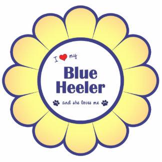 I Love My Blue Heeler (Female Dog) Photo Cutout