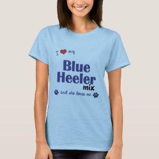 I Love My Blue Heeler Mix (Female Dog) T-Shirt