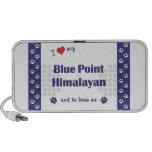 I Love My Blue Point Himalayan (Male Cat) Mp3 Speakers
