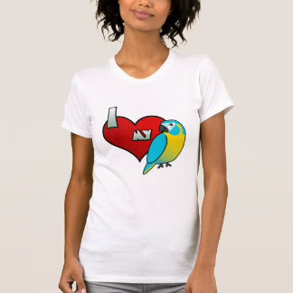 I Love my Blue Throated Macaw Tshirts