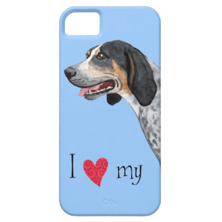 I Love my Bluetick Coonhound iPhone 5 Cover