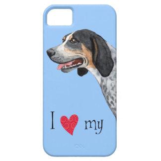 I Love my Bluetick Coonhound iPhone SE/5/5s Case