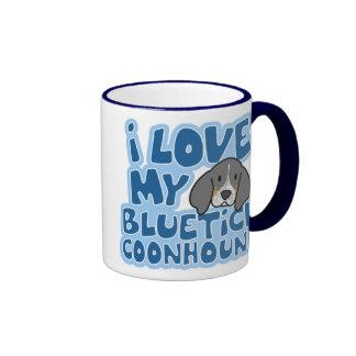 I Love My Bluetick Coonhound Mug