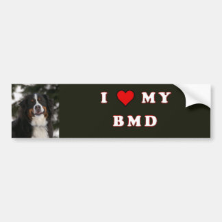 I Love My BMD Bumper Sticker