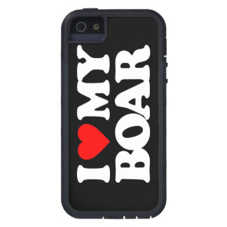 I LOVE MY BOAR iPhone 5 CASES