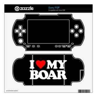 I LOVE MY BOAR SKIN FOR THE PSP