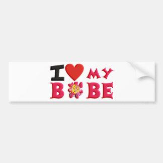 I love My Bobe Bumper Stickers