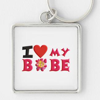 I love My Bobe Keychain