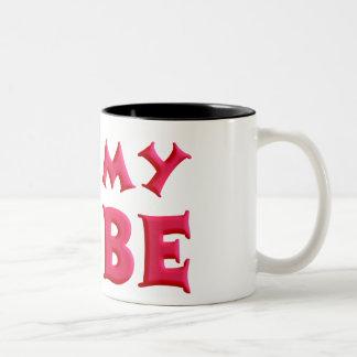 I love My Bobe Two-Tone Coffee Mug