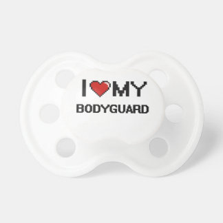 I love my Bodyguard BooginHead Pacifier